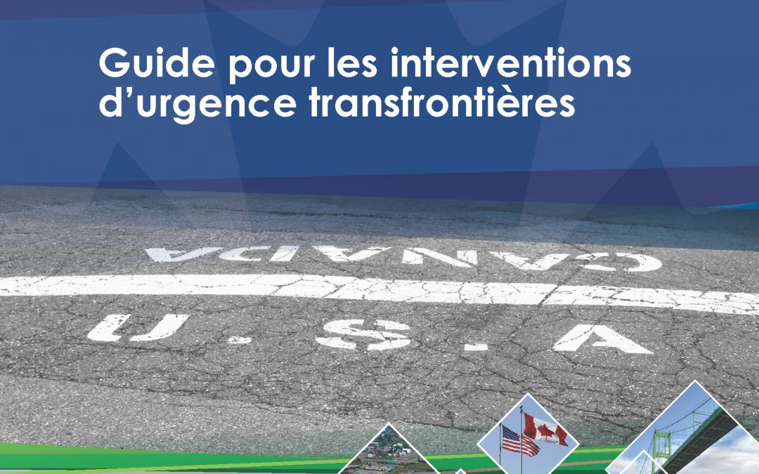 Guide pour les interventions d'urgence transfrontières