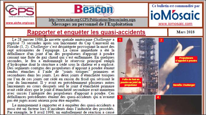 Bulletin BEACON – Mars 2018