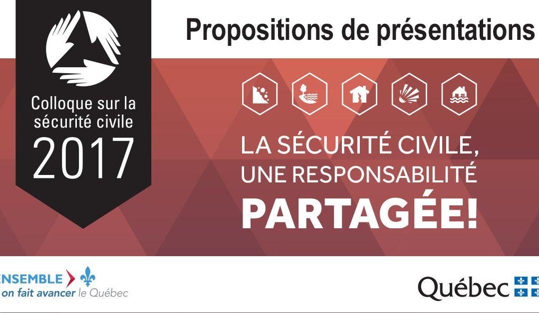 Le Colloque de la Sécurité civile – édition 2017