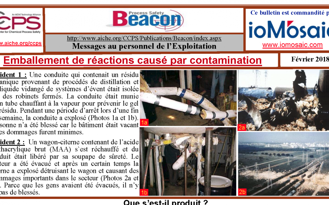 Bulletin BEACON – Janvier 2018