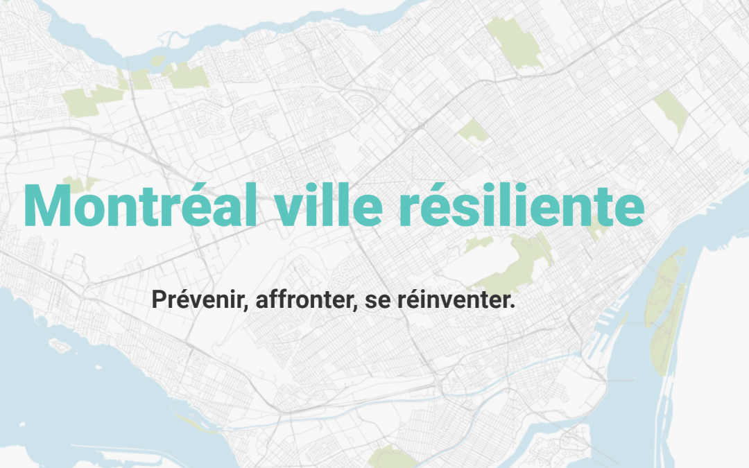 Montreal strategie resilience
