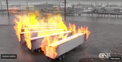 Rapport CSB – Incendie  à l'usine d'Arkema à Crosby, au Texas