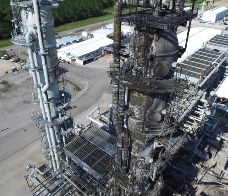 CSB publie son rapport final sur l'explosion en 2016 de l'usine de gaz à Pascagoula