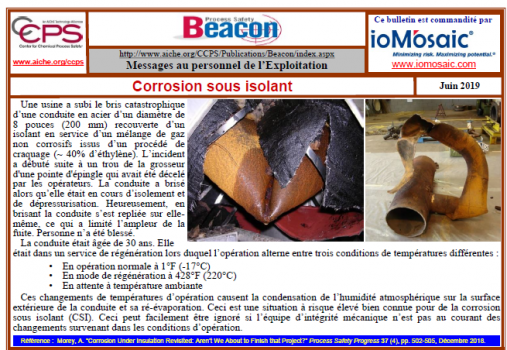 Bulletin BEACON – Juin 2019