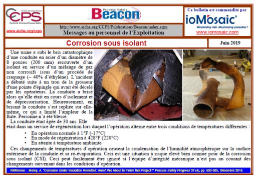 Bulletin BEACON – Juin 2019