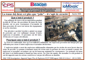 Bulletin BEACON – Janvier 2020