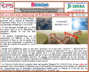 Bulletin BEACON – Février2020