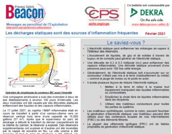 Bulletin BEACON – FÉVRIER 2021