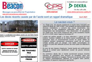 Bulletin BEACON – Avril 2021