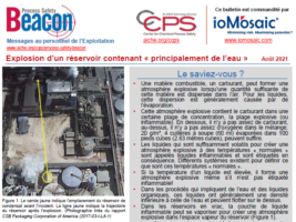 Proccess safety BEACON – AUGUST 2021